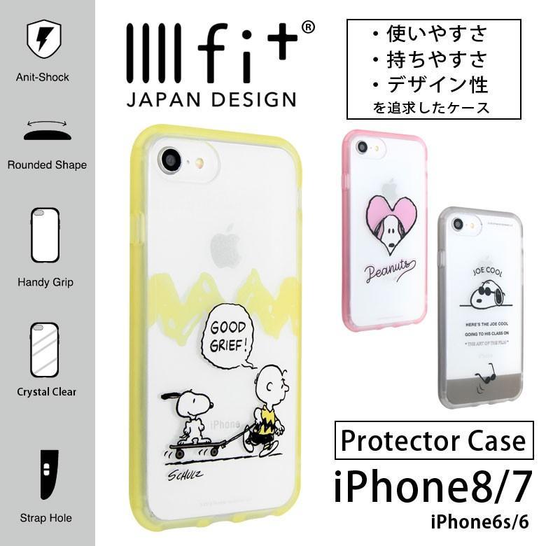 iPhone se2 ケース iPhone8 ケース iPhone7 スヌーピー イーフィット ...