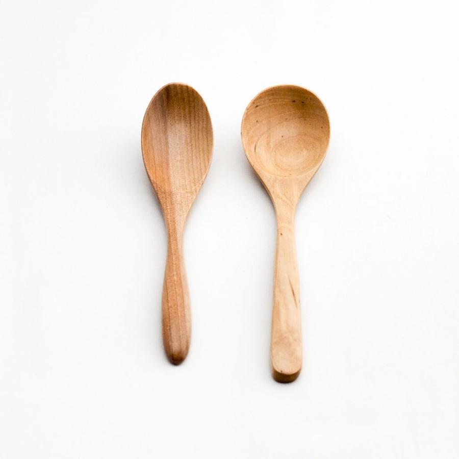 天然木製 カレースプーン カトラリー  おしゃれ モダン 和食器 35cm 木スプーン(小) monomono-shop 02
