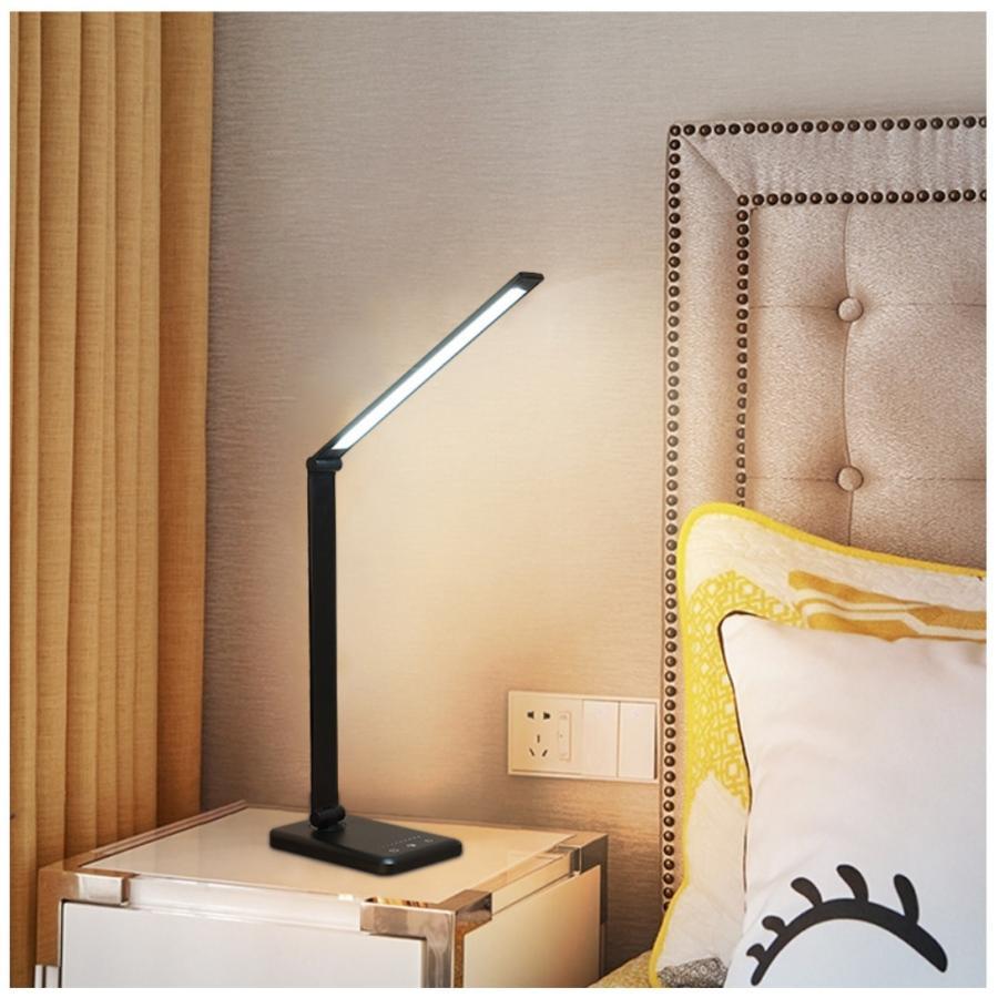 デスクライト LED 子供 目に優しい おしゃれ 充電 明るさ調整 タイマー 卓上 学習机|monostore1|09