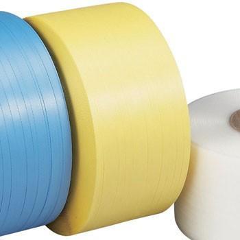 PPバンド(自動梱包機用) SSタイプ 積水樹脂 15.5SS 黄(H15.5mm×2500m)