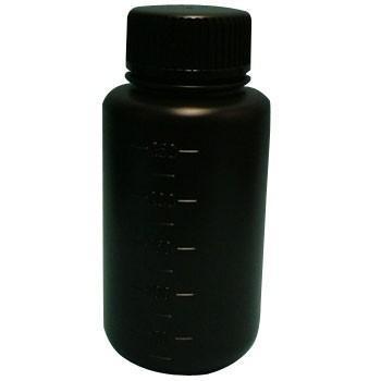 JKボトル(広口遮光) コクゴ 01-203-03-01 250ml 広口 遮光黒ケース