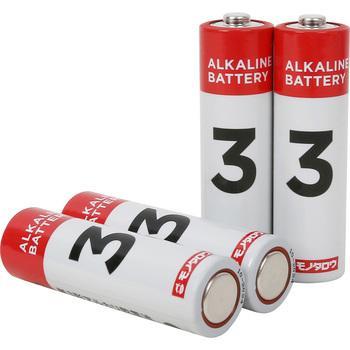 アルカリ乾電池 感謝価格 単3 モノタロウ 買い取り 4本入