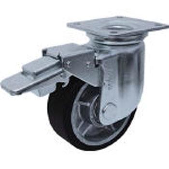 重荷重用キャスター 重荷重用キャスター 重荷重用キャスター MCナイロン車輪 自在SP付 ヨドノ RRJMB150 773