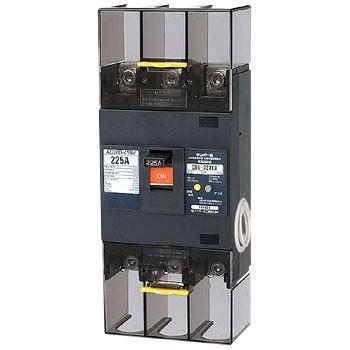 単3中性線欠相保護付漏電遮断器(太陽光発電システム用) OC付 テンパール工業 GBU-223EA 150A 30MA U223EA1530V