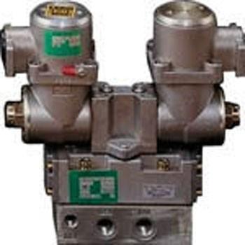 パイロット式 防爆形5ポート弁 4Fシリーズ(ダブルソレノイド) CKD 4F520E-15-TP-AC200V