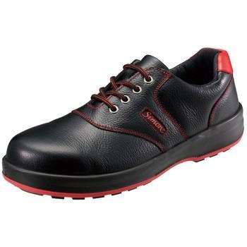 安全靴 シモンライト SL11 シモン SL11-R 黒-赤/24.5cm