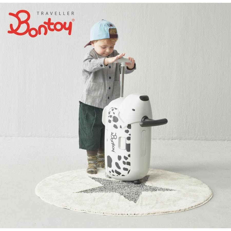 Bontoy(ボントイ)Travellerトラベラー ダルメシアン dalmatian(BK)キャリーバッグ