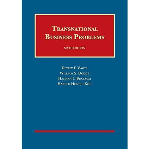 Transnational Business Problems (University Casebook Series) 並行輸入品