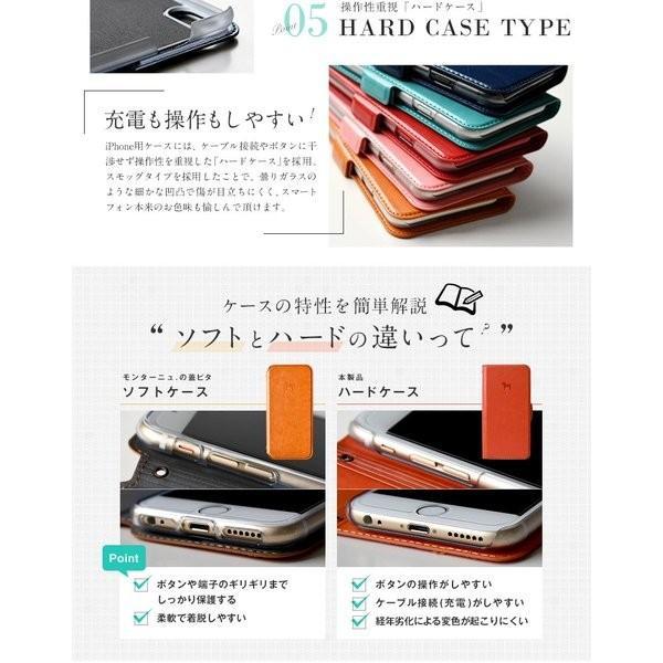 手帳型 スマホケース 名入れ対応 iPhoneケース 手帳型ケース 北欧 ダーラナホース 全機種対応 スライド iPhoneSE(第2世代) iPhoneXR iPhone8 iPhoneX MON-BPL montagne-y 14