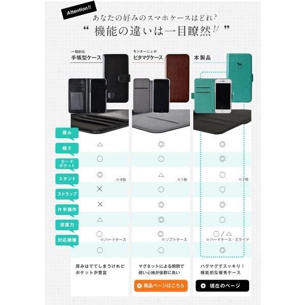 手帳型 スマホケース 名入れ対応 iPhoneケース 手帳型ケース 北欧 ダーラナホース 全機種対応 スライド iPhoneSE(第2世代) iPhoneXR iPhone8 iPhoneX MON-BPL montagne-y 18