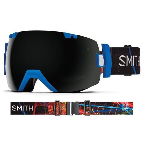 SMITH SNOW GOGGLE/スミス ゴーグル 16-17【I/OX アイオーエックス】Lapis Exposure 黒out【スペアレンズ...