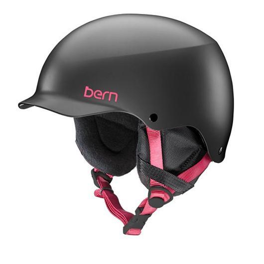 BERN(バーン) 16-17 bern ヘルメット バーン ヘルメット TEAM MUSE SATIN 黒 (L)