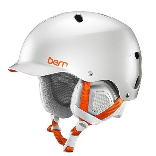 bern(バーン) ヘルメット LENOX レディース スノーボード スキー BE-SW25BSDGR-02 Satin Delphin グレー S