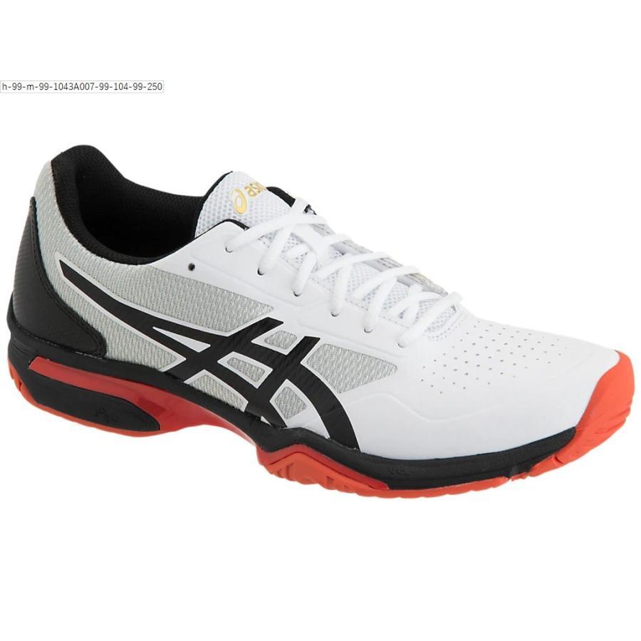 [アシックス] テニスシューズ PRESTIGELYTE 2 OC ホワイト/ブラック 24.5 cm