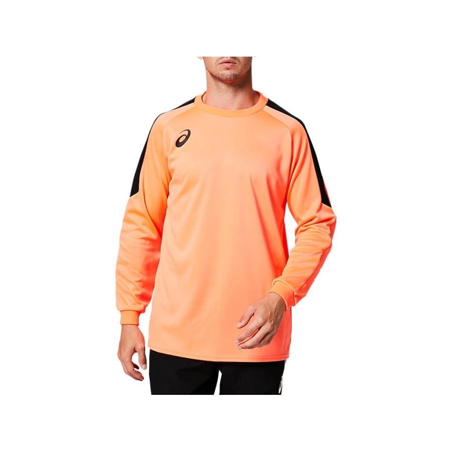 [アシックス] サッカーウエア 長袖ゴールキーパーゲームシャツ 2101A039 [メンズ] フラッシュコーラル 日本 M (日本サイズM相当)