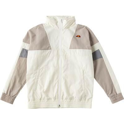 [エレッセ] トレーニングウェア カラーブロックウィンドジャケット EH58302 [ユニセックス] ホワイト (W) 日本 S (日本サイズS相当)