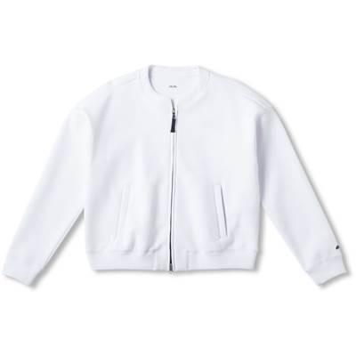 エレッセ(ellesse) ウィメンズ スペーサーニットジャケット EW39100 W ホワイト L