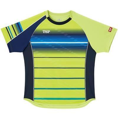 VICTAS(ヴィクタス) 卓球 男女兼用 ゲームシャツ クラールシャツ 031428 ライム XL