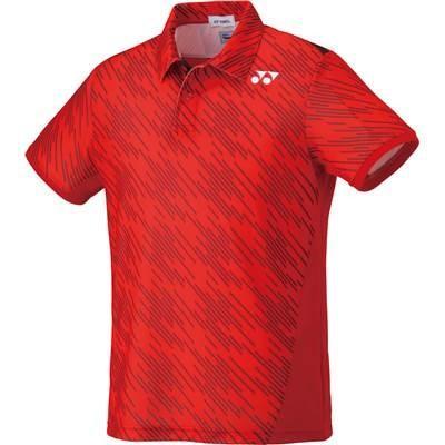 (ヨネックス)YONEX テニス・バトミントンウェア ポロシャツ 10207 [ユニセックス] 10207 496 サンセットレッド M