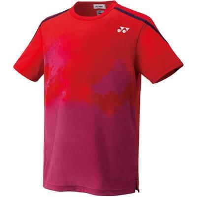 [ヨネックス] テニスウェア ゲームシャツ(フィットスタイル) [ユニセックス] 10266 サンセットレッド (496) 日本 M (日本サイズM相当)