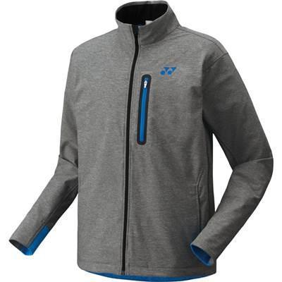 (ヨネックス)YONEX テニス ウォームアップジャケット(フィットスタイル) 51018 [ユニセックス] 010 グレー O
