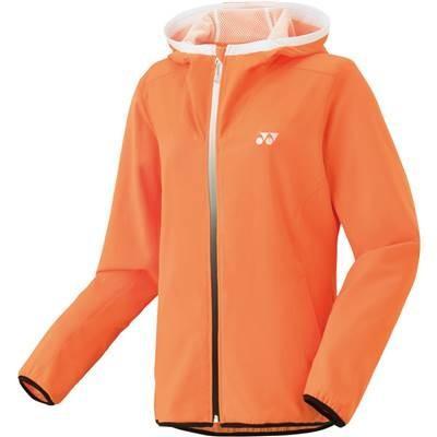 (ヨネックス)YONEX テニスウェア 裏地付ウォームアップパーカー(フィットスタイル) 57034 [レディース] 57034 160 ブライトオレンジ (160) M