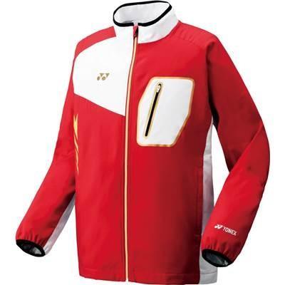 (ヨネックス)YONEX テニス 裏地付ウィンドウォーマーシャツ(フィットスタイル) 70051 [ユニセックス] 001 レッド M
