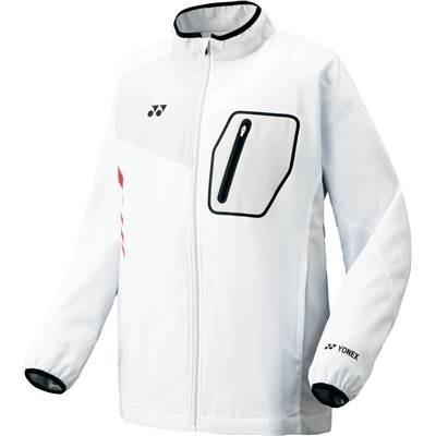 (ヨネックス)YONEX テニス 裏地付ウィンドウォーマーシャツ(フィットスタイル) 70051 [ユニセックス] 011 ホワイト L