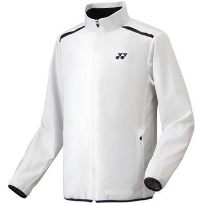 ヨネックス(YONEX) 裏地付ウィンドウォーマーシャツ(フィットスタイル) 70054 011 ホワイト SS