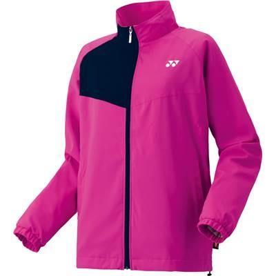 (ヨネックス)YONEX テニス 裏地付ウィンドウォーマーシャツ(フィットスタイル) 78046 [レディース] 123 ローズピンク S