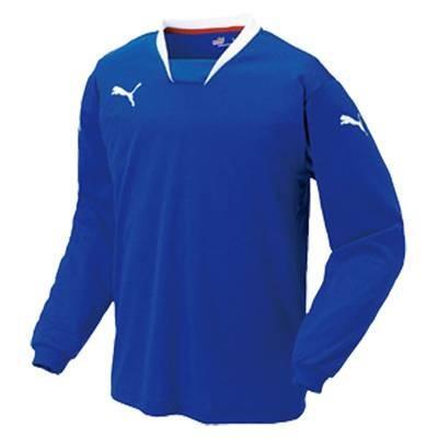 (プーマ)PUMA サッカー v-kon 長袖ゲームシャツ 903290 [ジュニア] 02 ブルー/ホワイト 130