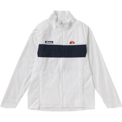 (エレッセ)ellesse テニスウェア ツアージャケット EM58100 [メンズ] EM58100 W ホワイト L