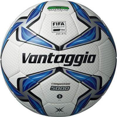 molten(モルテン) サッカーボール ヴァンタッジオ5000 コンペティション 5号 ホワイト×ブルー F5V5002
