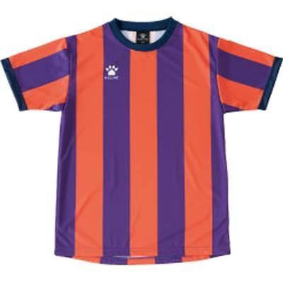 ケルメ(KELME) 昇華ゲームシャツ KS502 253 パープル/オレンジ S