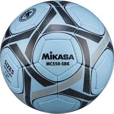 ミカサ(MIKASA) サッカーボール検定球5号(サックス/ブラック) MC550-SBK SBK 5号球