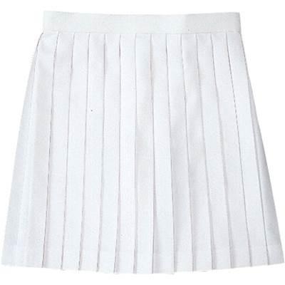 ゴーセン(GOSEN) レディース 硬式テニス ソフトテニス バドミントン ファンプラスカート ホワイト S1701 30(ホワイト) LL