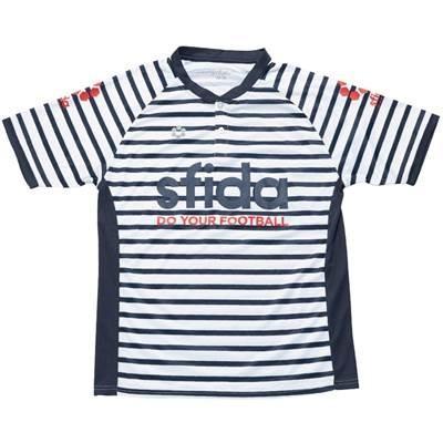 (スフィーダ)sfida 昇華プラポロシャツ SA-17S06 白い S