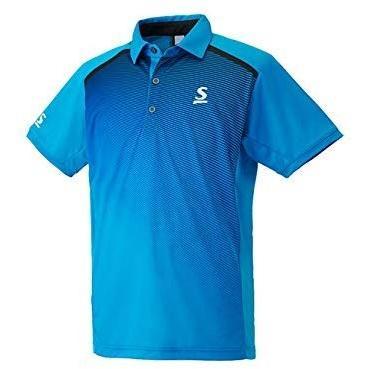 スリクソン(SRIXON) テニスウェア ユニセックス ポロシャツ SDP-1702 ブルー L