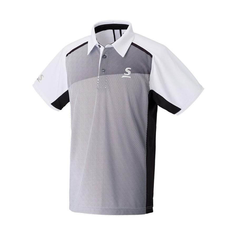 スリクソン(SRIXON) テニスウェア ユニセックス ポロシャツ SDP-1743 ホワイト O