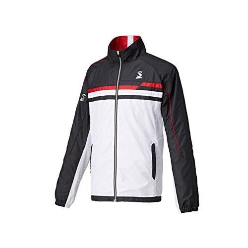 スリクソン(SRIXON) テニスウェア ユニセックス ウインドジャケット SDW-4742 ホワイト×ブラック O
