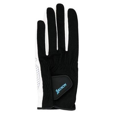 SRIXON(スリクソン) テニス メンズ用 シリコンプリント グローブ (両手セット) SGG2580 ブラック Mサイズ montaukonline
