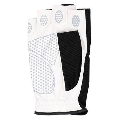 SRIXON(スリクソン) テニス メンズ用 シリコンプリント グローブ ハーフタイプ (両手セット) SGG2590 ブラック Lサイズ|montaukonline|02