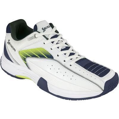 [スリクソン] テニスシューズ オムニ&クレーコート用 スピーザ 2 ホワイト×ネイビー 22.5 cm