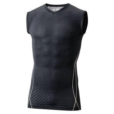 (ヨネックス)YONEX テニス ノースリーブシャツ[ユニセックス] STBP1012 007 ブラック S