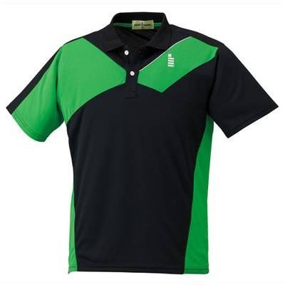 ゴーセン(GOSEN) ユニセックス ゲームシャツ T1502 ブラック S