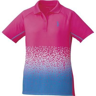 ゴーセン(GOSEN) レディース バドミントン ソフトテニス ゲームシャツ T1703 ピンク(81) S
