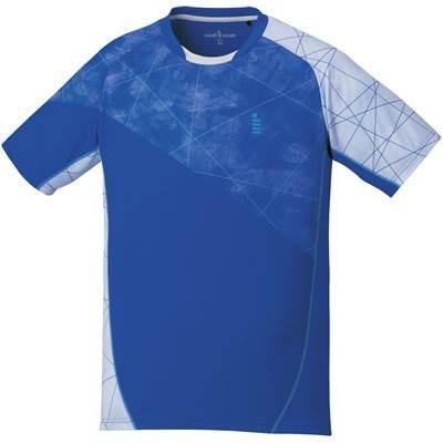 ゴーセン(GOSEN) 男女兼用 バドミントン ソフトテニス ゲームシャツ T1706 ロイヤルブルー(15) LL