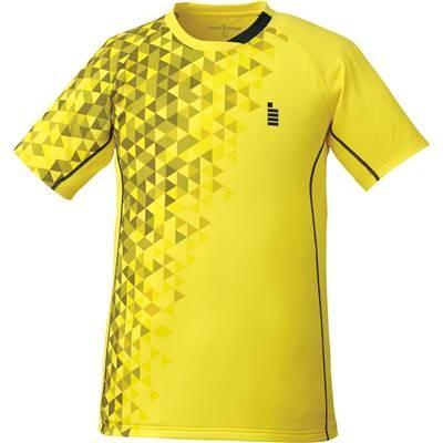 ゴーセン(GOSEN) テニス バドミントン ゲームシャツ 男女兼用 T1722 イエロー(51) M
