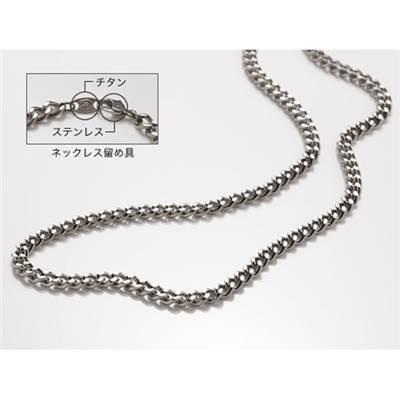 ファイテン(phiten) ネックレス チタンチェーンネックレス 60cm