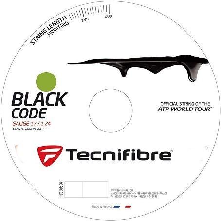 【美品】 テクニファイバー(Tecnifibre) TFR504 硬式テニス ストリング ストリング BLACK 200m CODE ゲージ1.24mm 200m TFR504 ライム(LM), 坂井村:e7e3cd2a --- airmodconsu.dominiotemporario.com